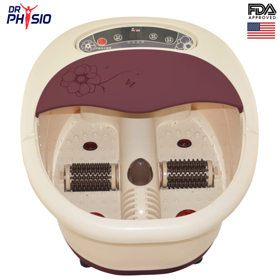 Dr. Physio Foot spa massager with auto roller_Visuel_1_1