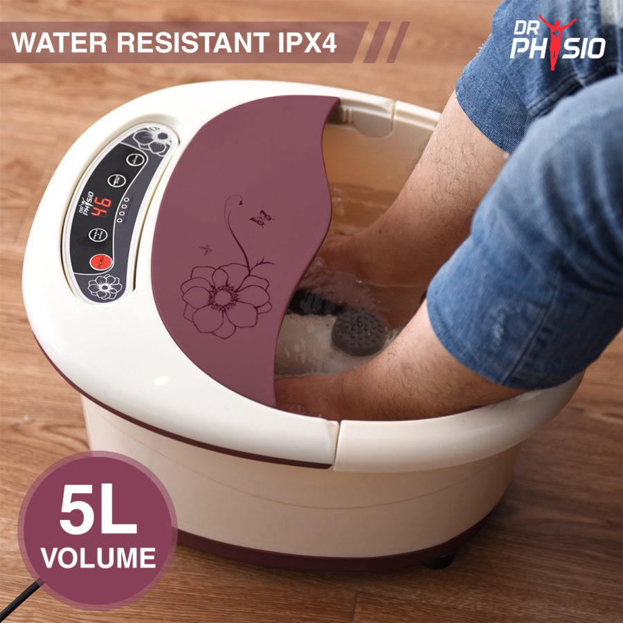 Dr. Physio Foot spa massager with auto roller_Visuel_4